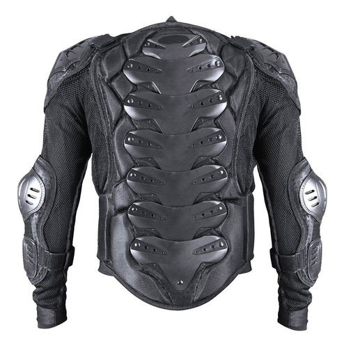 colete proteção integral p/ trilha texx evolution armo preto