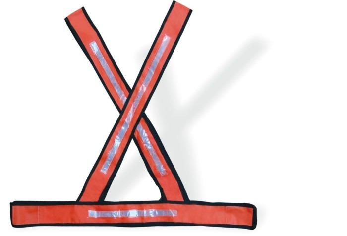 f4ea582204ae3 Colete Refletivo Tipo X Laranja - Cx C  10und - R  146