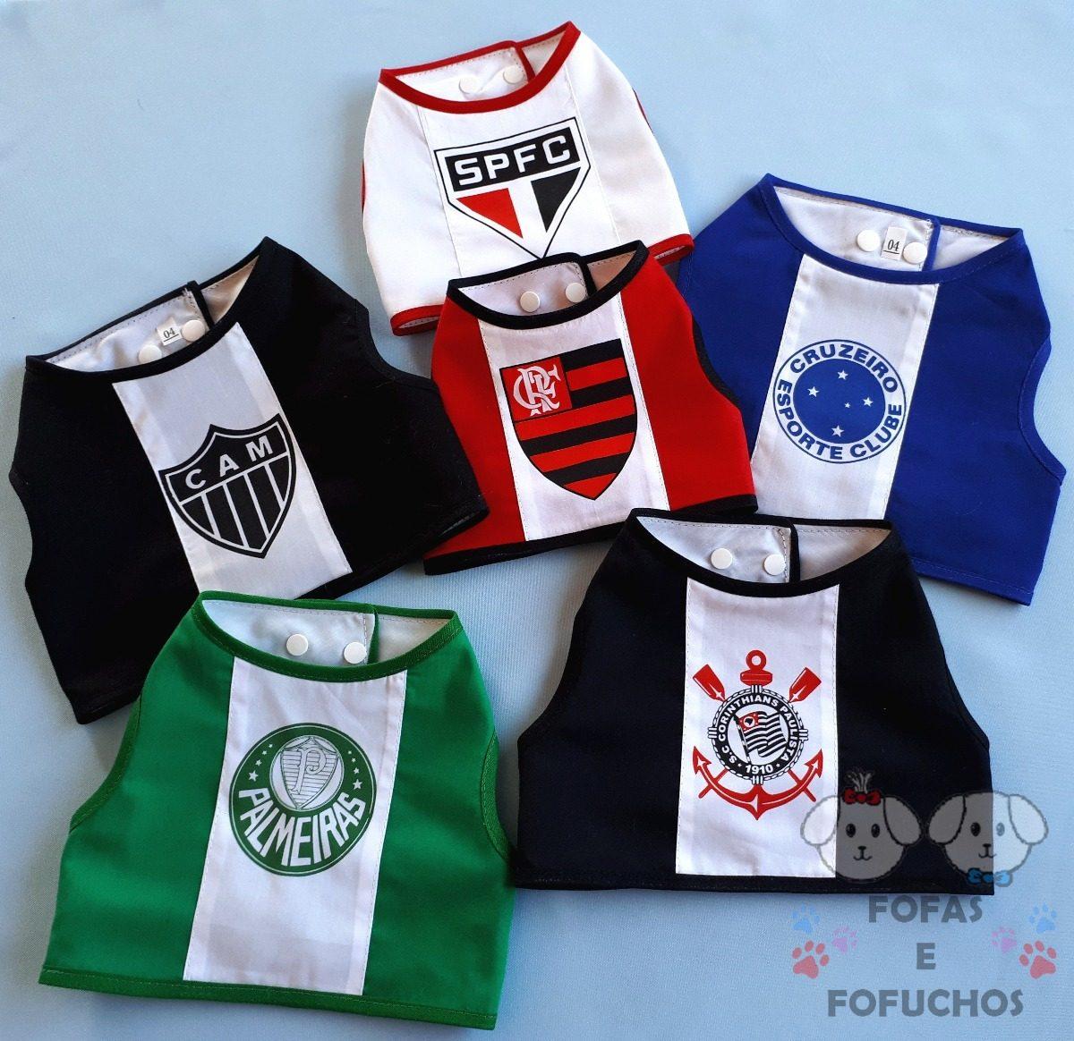 7ded292d4d Colete Roupa Pet Time Palmeiras 0