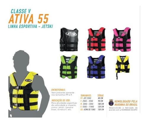 colete salva-vidas ativa classe v homologado marinha full