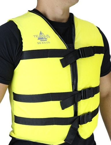 colete salva-vidas color  75kg