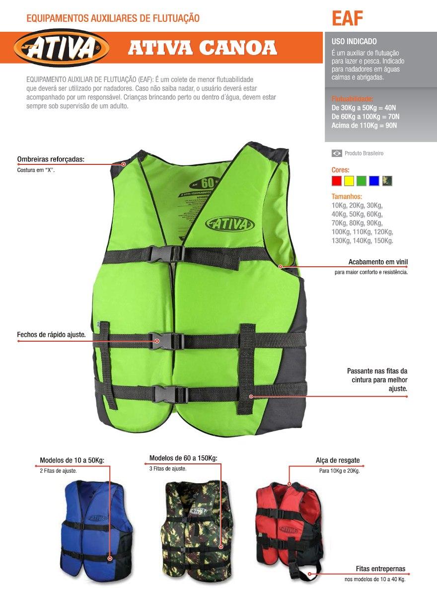 681a38fccb colete salva vidas esportivo jt ativa canoa 30kg amarelo. Carregando zoom.