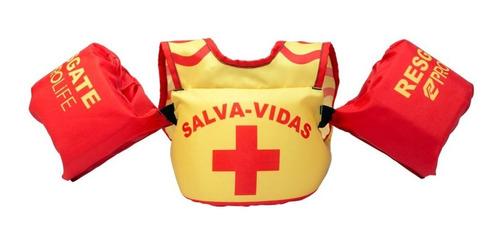 colete salva vidas infantil prolife bóia braço homologado