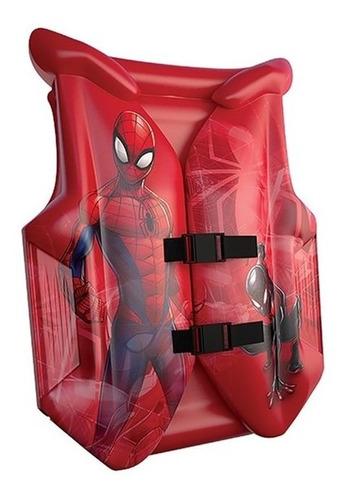 colete salva vidas marvel spiderman - art brink
