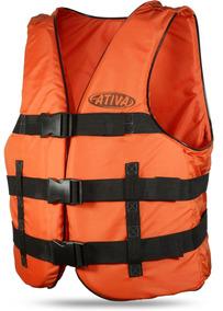 9258b9240 Colete Salva Vidas Modelo Caiaque Ativa Nautica - Esportes e Fitness no  Mercado Livre Brasil
