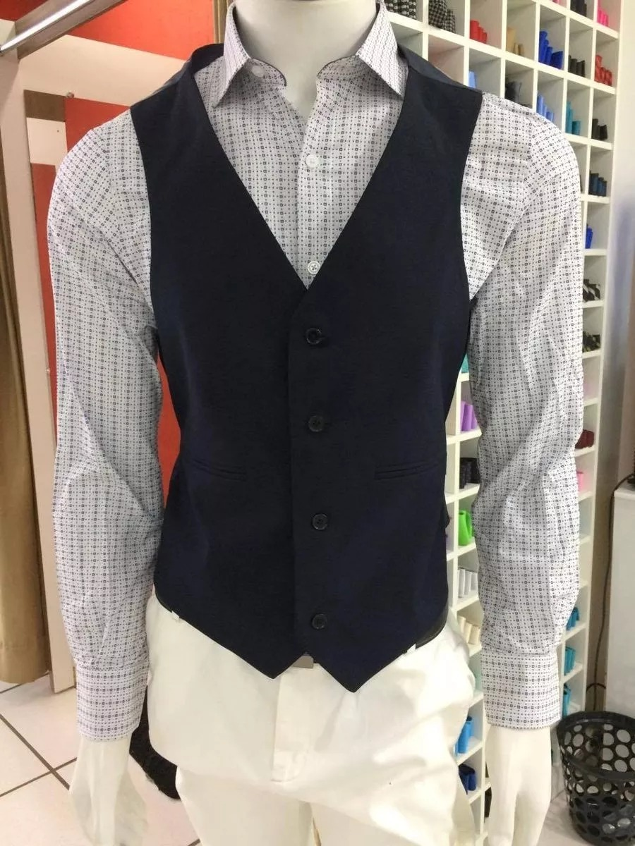 599ebb340a colete social masculino + camisa branca. Carregando zoom.