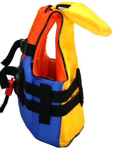 colete s.vida aux. flutuação - colorido - 90kg