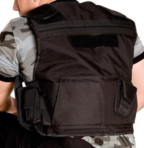colete tático comandos dois bolsos peitorais embutidos com z