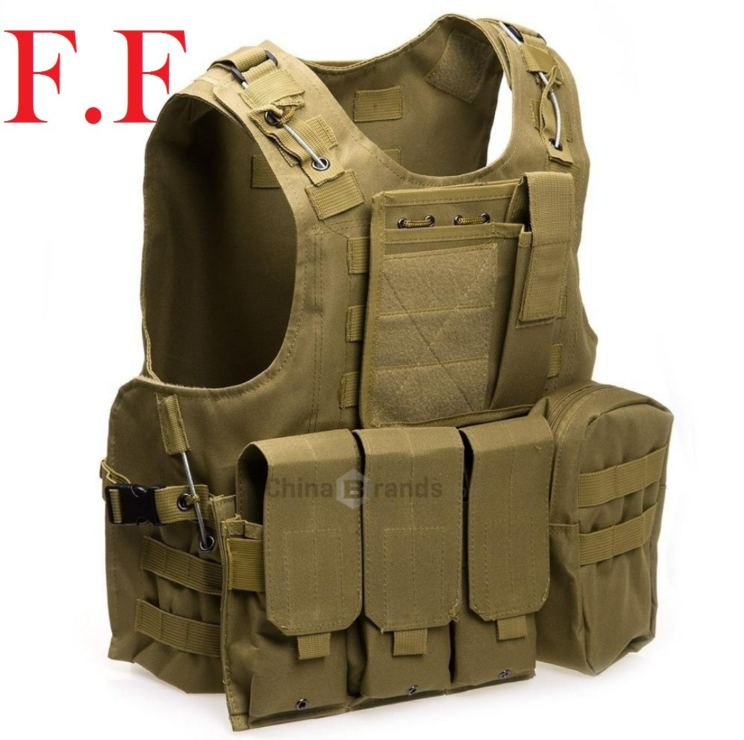 Colete Tático Modular Airsoft (coyote) Militar Paintball - R  210 799be98e59c89