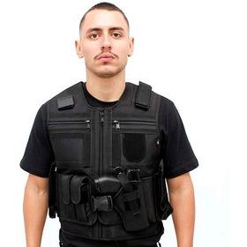 Colete Tático Policia Militar - Civil Paintball - Segurança