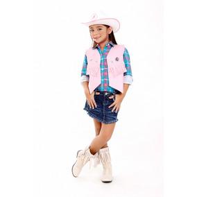 d7ff0a369f171 Colete Country Infantil Menino - Coletes no Mercado Livre Brasil