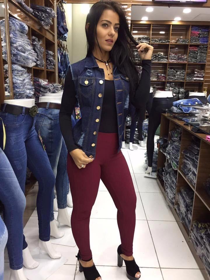 coletinho colete jeans feminino azul escuro pronta entrega. Carregando zoom. 2ddf448bdb57a