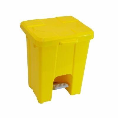 coletor 15 litros com  pedal p15