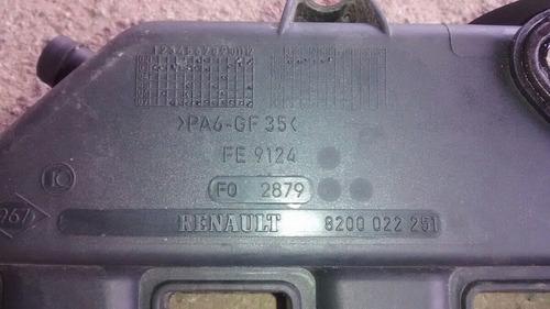 coletor admissao kangoo clio 1.6 16 v 8200022251