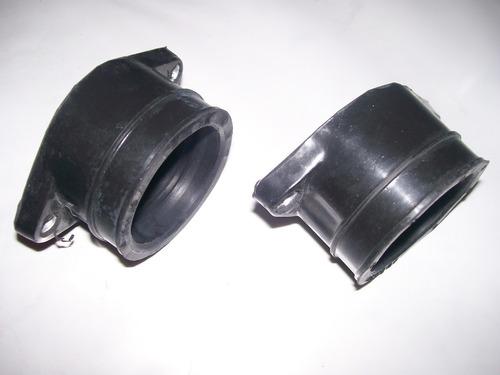coletor admissão 2 peças carburador duplo honda cb 400 450