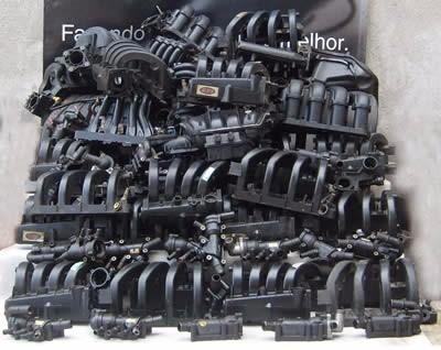 coletor admissão pagero sport 2.5 turbo mr577029