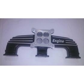 Coletor De Admissão Sem Aquec. Engine Quadrijet - Opala 6 Cc