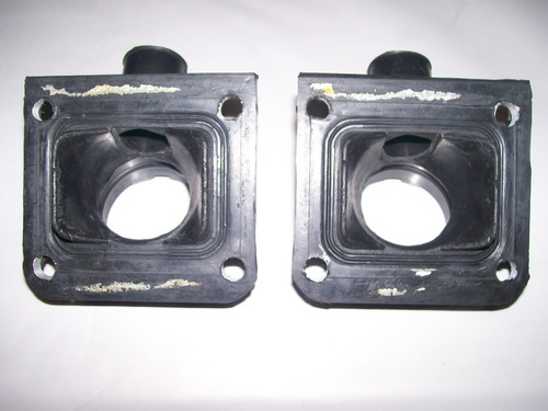 coletor de admissão carburador duplo yamaha rd 350 (2 peças)