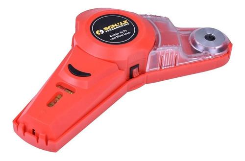 coletor de pó e nivel com laser para furadeira schulz