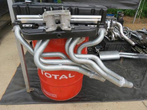 coletor escapamento 6x2 41mm opala/caravan 100% dimensionado