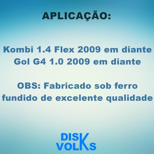 coletor escape kombi 1.4 flex 2009/-- gol g4 1.0 032253031t