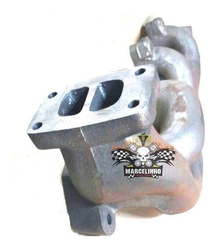 coletor escape turbo mbb om 366 bicudo  1218 1418 1620 1720