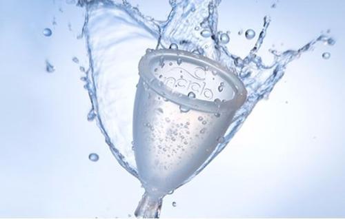 coletor menstrual ecológico inciclo tipo fleurity copo tam b