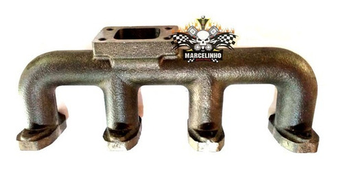 coletor tubagem mwm 229/4 turbo vw 6.9 f1000 f4000 agrícola