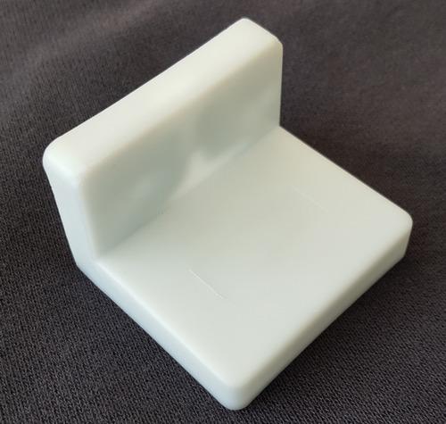 colgador de alacena con tapa plastica x 10 und soporte