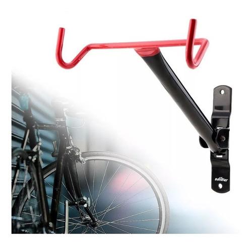 colgador de bicicleta horizontal para muralla