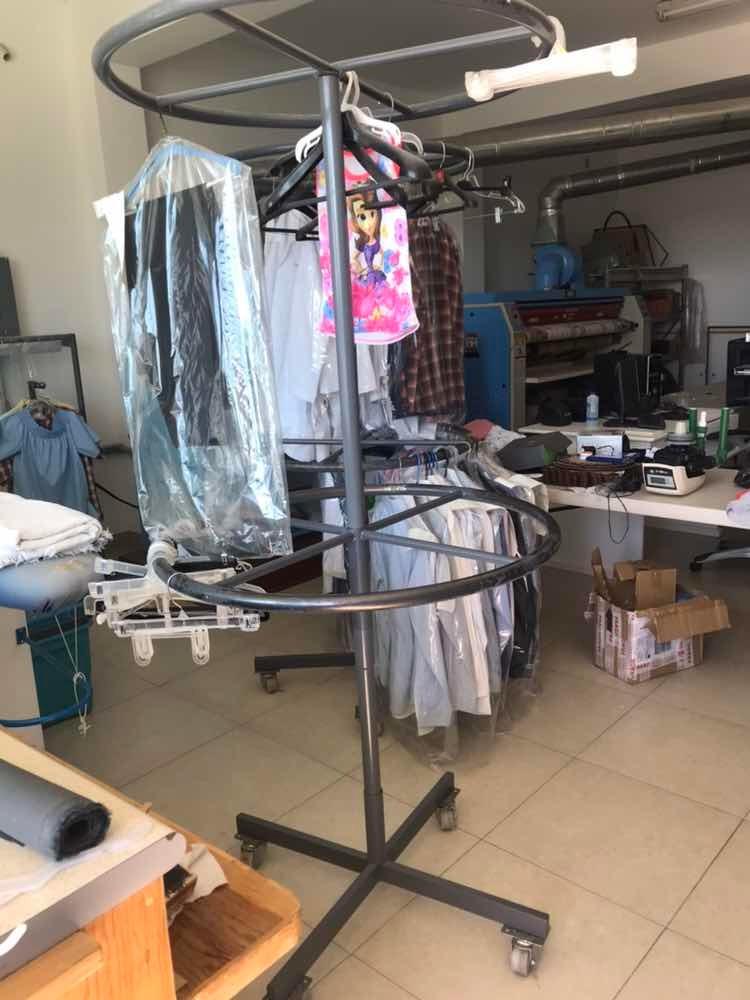 Colgador de ropa giratorio lavanderia tintorer a 7 200 - Colgador de camisas ...