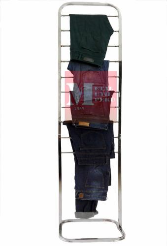 colgador de ropa metálico /exhibidor