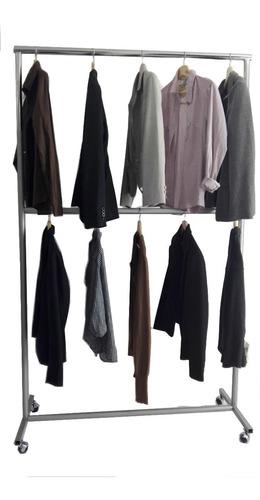 colgador  ropa de metal  exhibidor