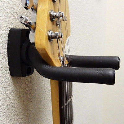 colgador sujetador para guitarras. acolchado y adaptable