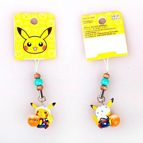 colgadores para celular / llavero  pokemon  originales.