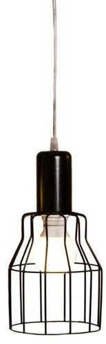 colgante alambre negro artelamp