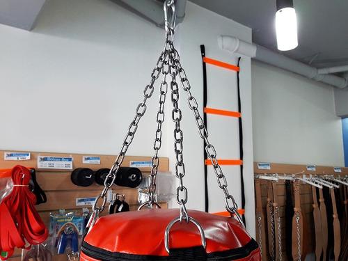 colgante cadenas bolsa box + eslabon abierto + mosqueton