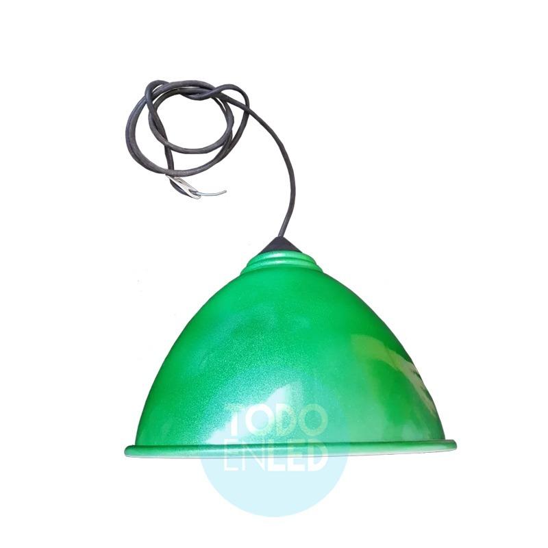 Colgante Campana Color Ternasolada 1 Luz Linea Benetton - $ 271,46 ...