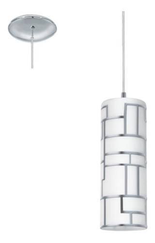 colgante cilindro de vidrio bayman - eglo eg0104