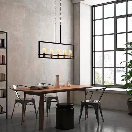 Colgante Comedor Led Diseño Otto Incluye Lamparas Buena Luz ...