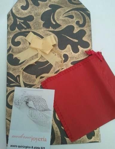 colgante corbatero acero cardinal perla sintetica para regal