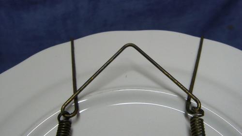 colgante de alambre para platos varias medidas