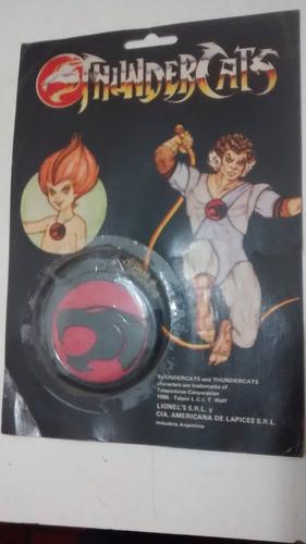 colgante de los thundercats en su blister original 1986