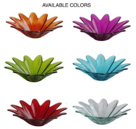 colgante de vidrio coloreado comedero para pájaros jardín ac
