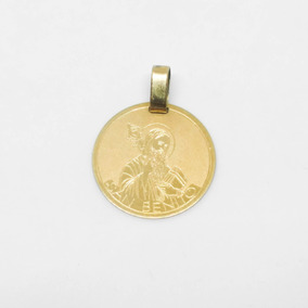49bbe87e162 Medalla San Benito Oro 18 K en Mercado Libre Argentina