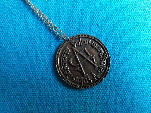 colgante game of trones - moneda valar morghulis