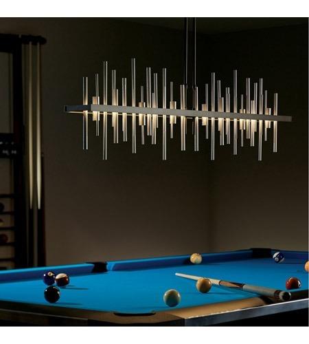 colgante lampara harvey acero luces 220v moderna luz led