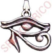 colgante ojo de horus - estaño