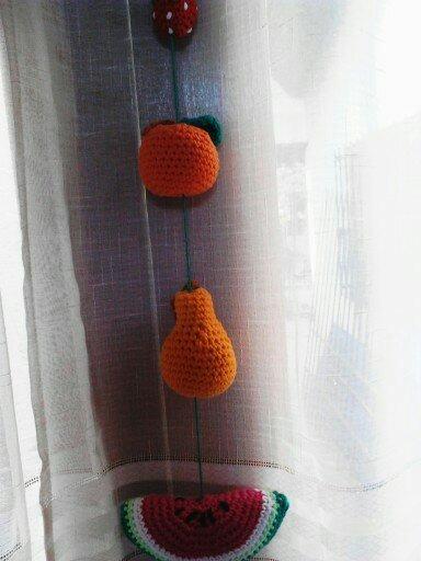 Colgante para cocina frutas amigurumi crochet    120,00 en ...
