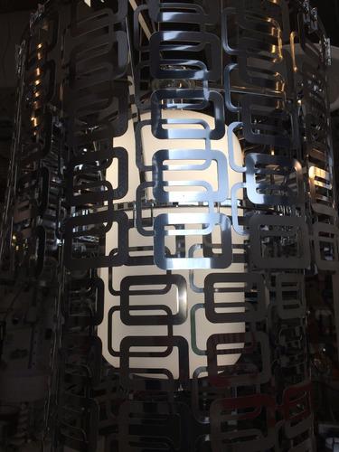 colgante philips diseño lucios + lampara led high power 40w